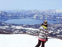 【スキーパック】田沢湖スキー場1日券付きプラン♪1泊2食バイキング