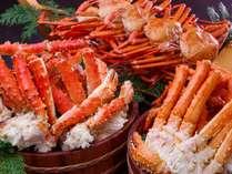 ~5月まで開催!蟹の食べ放題をお楽しみください。