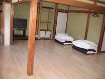 大部屋20名宿泊可能