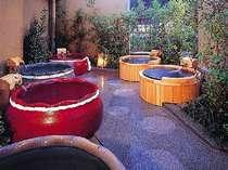 ▲露天風呂をひとり占めできる庭園露天風呂