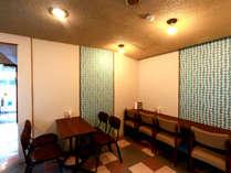 当館1階に併設の喫茶『えんがる』は2021年7月リニューアル。暖かな雰囲気の店内でお過ごしください。