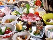 新鮮食材をふんだんに使った料理の数々/一例