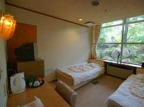 【一人でもお気軽に!】一人旅のお客様や、ベッドをご希望のお客様やビジネス利用でも人気の洋室