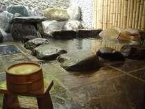 露天風呂付離れ【月の間】風の間】 ※温泉を使用しています