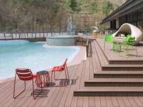 【1F】森の中の温泉ビーチ 『ト・コ・ナッツ』