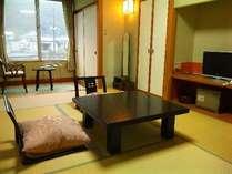 【客室】気軽なご滞在に和室7畳 一例