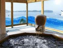 【貸切露天風呂】無料の貸切露天「鶴亀の湯」