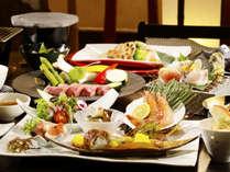 【夕食】ときわや~Standard~季節の一例