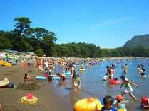 【入江で波が穏やかな御浜海水浴場】お子様にも安全なビーチです!