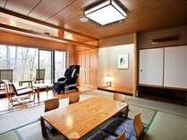 落ち着いた雰囲気の和室※客室一例