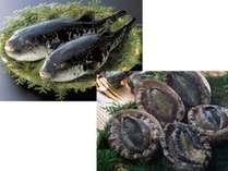 黒鮑と虎河豚の饗宴イメージ