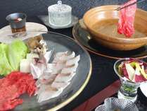 真鯛と黒毛和牛 玉葱鍋イメージ