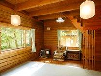【オクラホマ】最大7名様まで宿泊できる2階建和洋室。キッチン付き。
