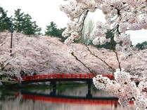 【オンラインカード決済限定】弘前に春到来!GW&弘前城桜祭りプラン♪《和洋バイキング朝食付》