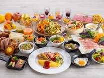 朝食ビュッフェ※イメージ 日替わりメニュー