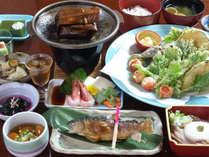 【瀬波会席】地元白山麓で取れる食材がたっぷり使用!ヘルシーで健康的。