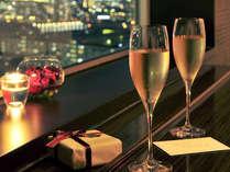 【プラン特典】スパークリングワインでロマンティックステイ