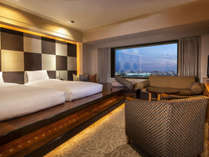【Room Danran ~South Grand View】高層フロアに佇むくつろぎスペース。