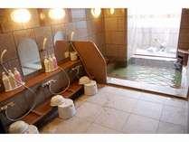 男女別の大浴場『旅人の湯』は、一日の疲れを癒してくれることでしょう。
