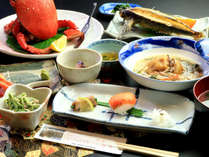 【料理_夕食プレミアム】料理長自ら選んだ旬の食材を日替わりで提供いたします!