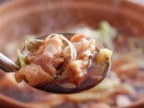 オリーブ牛や讃岐コーチン等、地元食材を使った野趣溢れるお料理をお愉しみください。(料理イメージ)
