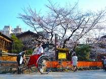 【嵐山の観光人力車】特別で優雅な旅をお手伝い