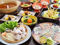 ☆【12/1~3/4】会席料理「河豚」
