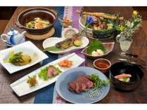 【1日限定4組】 那須の特産物を使用したこだわりのお料理を♪一泊二食付プラン☆スタンダードプラン♪