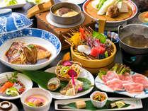 ■基本会席■お腹が喜ぶ様々な素材の品々をご堪能ください