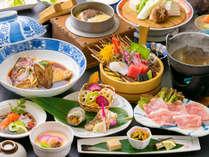 ◆基本会席◆胃袋が喜ぶ様々な素材の品々をご堪能ください