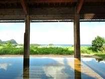 海の温泉「竜宮」内湯