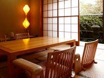 露天風呂付き和室(仙石原温泉)広々和室二間続き54平米