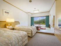 【スタンダード和洋室】28.8平米(6畳+ベッドスペース)