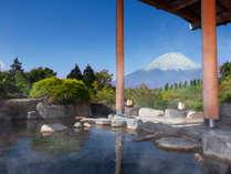 【箱根で富士山の見える宿】富士山を望む絶景露天【自家源泉の仙石原温泉】女湯限定で富士見酒のサービスも