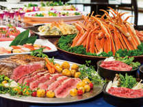 【2018/3/31迄】ズワイ蟹やローストビーフも食べ放題のプレミアムビュッフェ