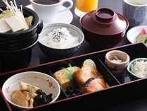 温かみのある和朝食
