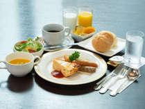 *洋朝食●爽やかな目覚めと一日の活力に。食べやすく美味しい洋朝食はいかがですか。