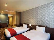 【スタンダードツイン】幅120cmのツインベッドのお部屋です。,大阪府,ホテル・ラ・レゾン大阪(3月1日~クインテッサホテル大阪ベイ)