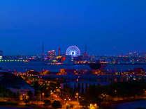 遠くに天保山の大観覧車が見えます。,大阪府,ホテル・ラ・レゾン大阪(3月1日~クインテッサホテル大阪ベイ)