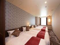 【デラックストリプルプラス】グループにおすすめのお部屋です。,大阪府,ホテル・ラ・レゾン大阪(3月1日~クインテッサホテル大阪ベイ)