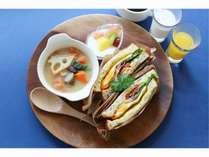 腸活スープ朝食が大好評☆テイクアウト・客室へのお持ち上がりも可能!