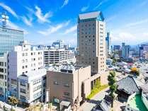 【ホテルJALシティ長野】JR長野駅より徒歩7分。北信濃の観光拠点としてご利用いただけます。