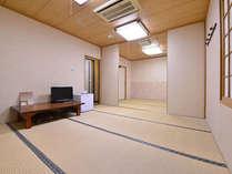 *和室14畳(客室一例)/ファミリーやグループでお寛ぎいただけるゆったり広々としたお部屋。