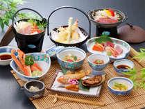*【夕食(一例)】腕によりをかけた料理の数々をご提供