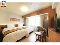 ツインルーム 23㎡ ベッド幅110㎝/シングルベッド2台【浴室・洗面・トイレ分離型】