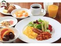 朝食盛り付け例【洋食】
