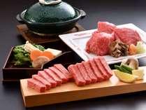 近江牛ステーキ200gと近江牛しゃぶしゃぶ100g お肉好きの方へピッタリのプランです