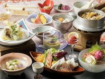 恵みまるごとご膳プランお料理イメージ※季節により内容が異なります。