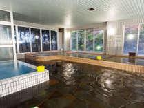 ★地下1200Mからこんこんと湧く天然温泉を、広々とした大浴場でご堪能下さい。