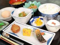 *朝食/起きたての身体に優しい和定食を。